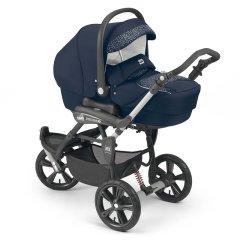 CAM/贝贝亲 意大利原装进口 高景观婴儿车 BB多功能折叠 三轮婴儿车手推车ART891图片