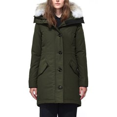 Canada Goose 加拿大鹅 女士长款狼毛领抗寒防水羽绒服派克大衣图片
