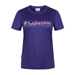 18春夏新品 COLUMBIA/哥伦比亚女款户外降温速干短袖T恤PL2793图片