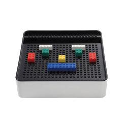 SHUTER/树德 藏电线乐高收纳盒理线器移动硬盘充电宝整理盒电源集线盒图片