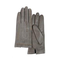 MARJA KURKI/玛丽亚古琦 女士羊皮手套 线条装饰真皮手套 穿梭图片