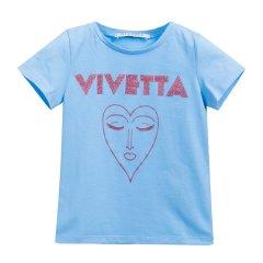 VIVETTA KIDS/VIVETTA KIDS 女童棉质人脸图案T恤81-VB443图片