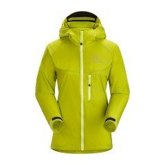 ARCTERYX/始祖鸟 女款轻防风连帽夹克/皮肤风衣 Squamish Hoody W 13661 【2017春夏新款】图片