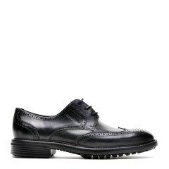 ROBERTA DICAMERINO/诺贝达牛皮 系带厚底布洛克 男士商务鞋图片