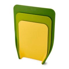Joseph joseph/Joseph joseph新型层叠易入锅菜板3件套 绿色图片