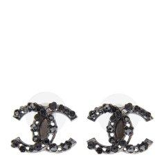 【包税】Chanel 香奈儿 【18春夏】女士纯色经典双C金属耳钉耳饰图片
