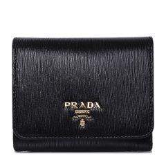 PRADA/普拉达 女士小钱包牛皮钱夹卡包短款 1MH176 UZF图片