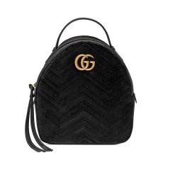 GUCCI/古驰   GG Marmont女士天鹅绒 拉链 背包 双肩包 524568-9QICT-4462图片
