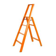 Hasegawa/长谷川利快日本进口双扶手四步梯子铝合金家用单侧梯多功能折叠梯子人字梯 (红点奖)图片