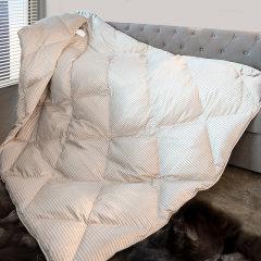 MINE/寐奢享瓦格纳加拿大进口白鹅绒被芯含绒量95%白鹅绒羽绒被芯图片