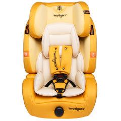 两只老虎 汽车儿童安全座椅 适合9个月-12岁 大空间加宽侧翼7档头靠调节 乖乖虎图片