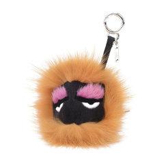 FENDI/芬迪 女士狐狸毛毛球小怪兽挂饰钥匙扣其他7AR389 6DK图片