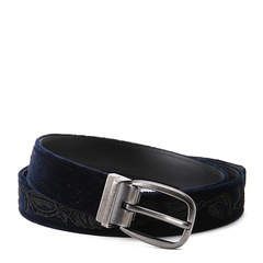 Dolce&Gabbana/杜嘉班纳腰带-男士蓝色皮带图片