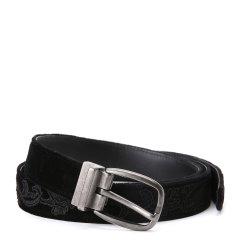 Dolce&Gabbana/杜嘉班纳腰带-男士黑色皮带图片