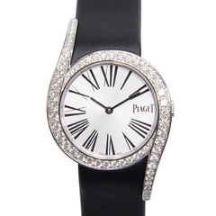 PIAGET/伯爵Limelight系列女士石英腕錶G0A38160黑带图片