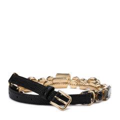 Dolce&Gabbana/杜嘉班纳腰带-女士黑色皮带图片
