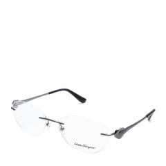 Salvatore Ferragamo/菲拉格慕奢华水晶镶嵌&字母标正装商务款光学镜架眼镜图片