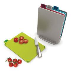 Joseph joseph/Joseph joseph mini可分类健康指标菜板 抗菌环保/婴儿辅食必备图片