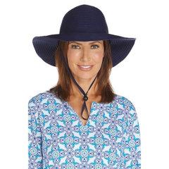 Coolibar 多国防晒机构认证 专利超轻透气旅行可折叠女士遮阳帽 UPF50+图片