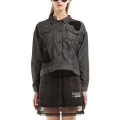 D-mop Loveis/Loveis 女士短款翻领外套 时尚设计 女士外套图片