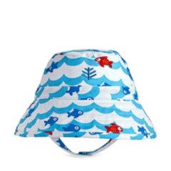 Coolibar 多国防晒机构认证 超轻透气纯棉 卡通图案 萌宝宝遮阳帽 UPF50+图片