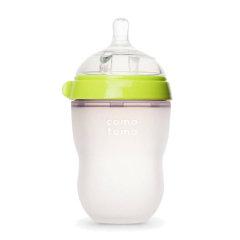 韩国 comotomo 可么多么 250ML,奶瓶自带流量为二滴的奶嘴图片