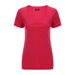 Emporio Armani/安普里奥阿玛尼女士T恤-女士玫红内衣95棉5氨纶图片