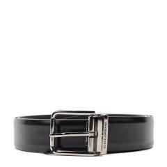 【春季折扣】Dolce&Gabbana/杜嘉班纳 男士字母logo装饰小牛皮腰带 SP图片