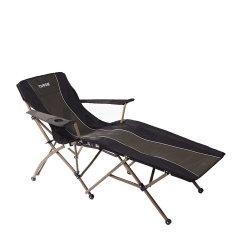 乐游 自驾游户外折叠床椅靠背椅 欧美加强粗管办公室午休床躺椅ch-36图片