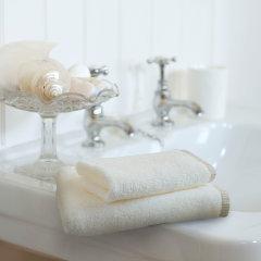 LAVIE BATH有机精练无捻毛巾 冰淇淋系列 面巾 手巾2件套装图片