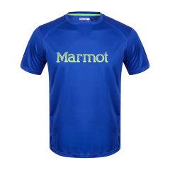 MARMOT/土拨鼠 2016新款男款轻质舒适透气圆领短袖速干T恤 63170图片