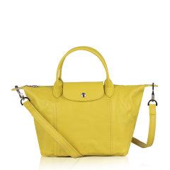 Longchamp/珑骧羊皮 LE PLIAGE CUIR 女士折叠式经典饺子包/单肩包/手提包 1512图片