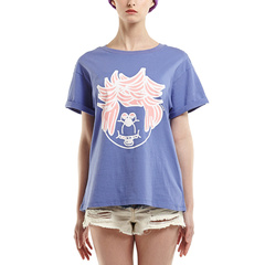 D-mop Loveis/Loveis 女士简约T恤 春夏时尚 女士T恤图片