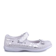 Eurobimbi欧洲宝贝金属花纹牛皮方口鞋适合5岁-9岁EB1601P007图片