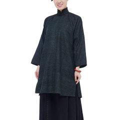 JLMT/净莲满堂  民国大襟中长衫 柞蚕丝 女唐装及汉服图片