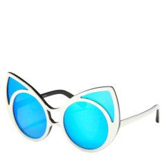 Linda Farrow/琳达法罗 × KHALEDA RAJAB 合作新款首发 FAHAD ALMARZOUQ 猫眼偏光太阳镜 100%防UV KR1图片