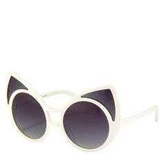 Linda Farrow/琳达法罗 × KHALEDA RAJAB 合作新款首发 FAHAD ALMARZOUQ 猫眼偏光太阳镜图片