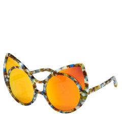 Linda Farrow/琳达法罗 × KHALEDA RAJAB + FAHAD ALMARZOUQ 合作新款首发 猫眼偏光太阳镜 100%防UV KR1C5SUN图片