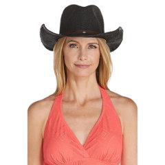 Coolibar 多国防晒机构认证 Cowboy 专利超轻透气 女士牛仔遮阳帽 UPF50+图片
