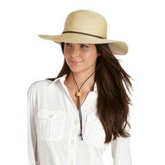 Coolibar 多国防晒机构认证 SmartStraw专利材料 超轻透气 Sedona女士遮阳帽 UPF50+图片
