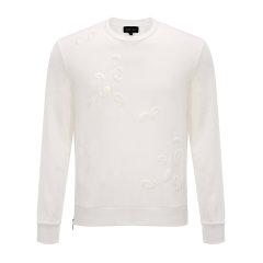 【16年秋季新品】Emporio Armani/安普里奥阿玛尼男士卫衣-男士白色纯棉运动服图片