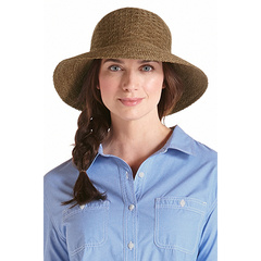 Coolibar 多国防晒机构认证 Marina 旅行可折叠防变形女士遮阳帽 UPF50+图片