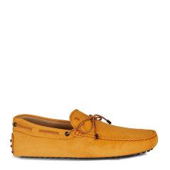 Tod's/托德斯男士黄色男士休闲鞋哑光牛皮豆豆鞋图片