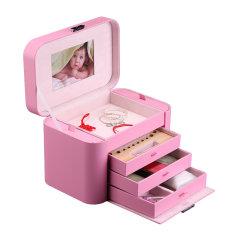OC/开合宝宝记忆盒 首饰盒木质创意新生儿礼物儿童记忆保存盒图片