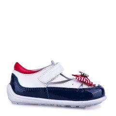 Eurobimbi欧洲宝贝海军风女童皮鞋适合18个月-4.5岁EB1601P010图片
