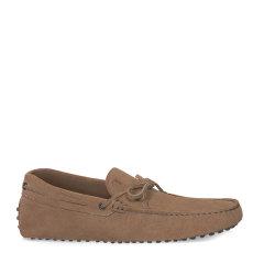 Tod's/托德斯男士米色男士休闲鞋小山羊皮豆豆鞋图片