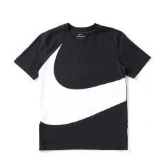 Nike Big Swoosh 多配色合集 黑白大钩子男女运动休闲短袖T恤短裤 AR5192-010 AR3162-010图片