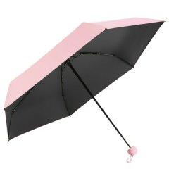 【便携升级新款】MISS RAIN/MISS RAIN 迷你五折伞 235克 轻松入包 超轻糖果色五折伞图片