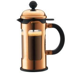 bodum波顿法压壶 香波系列进口玻璃咖啡壶耐热滤压茶壶latte350ml图片