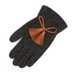 【可用券】RACOHA 彩色流苏手套-蓝色/紫色 Color Glitter Tassel Gloves_Blue&Purple图片